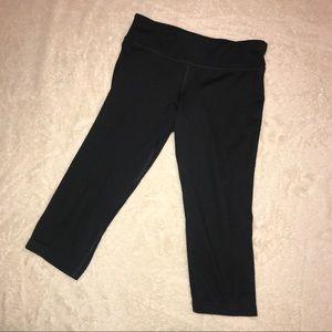 🌻 Champion Black Crop Leggings Size 6/6X